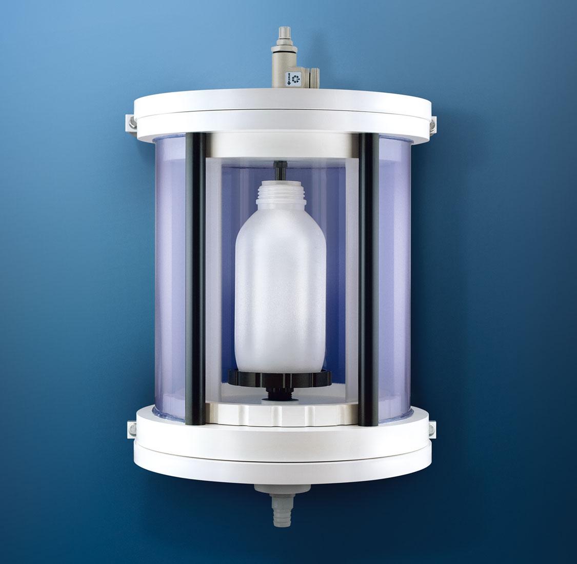 Smarte Labortechnik: Probeentnahmeschrank PVC weiß