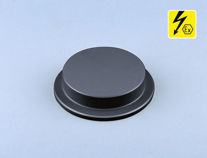 Blinddeckel elektrisch leitfähig PE-el