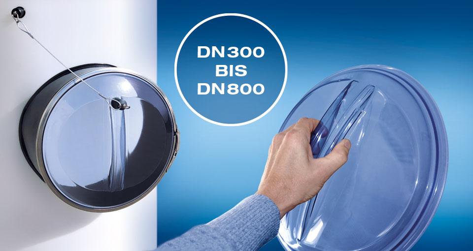 Mannloch DN300 bis DN800